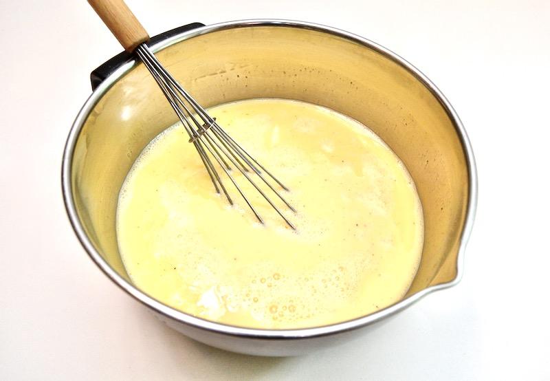 Quiche, Egg Mix