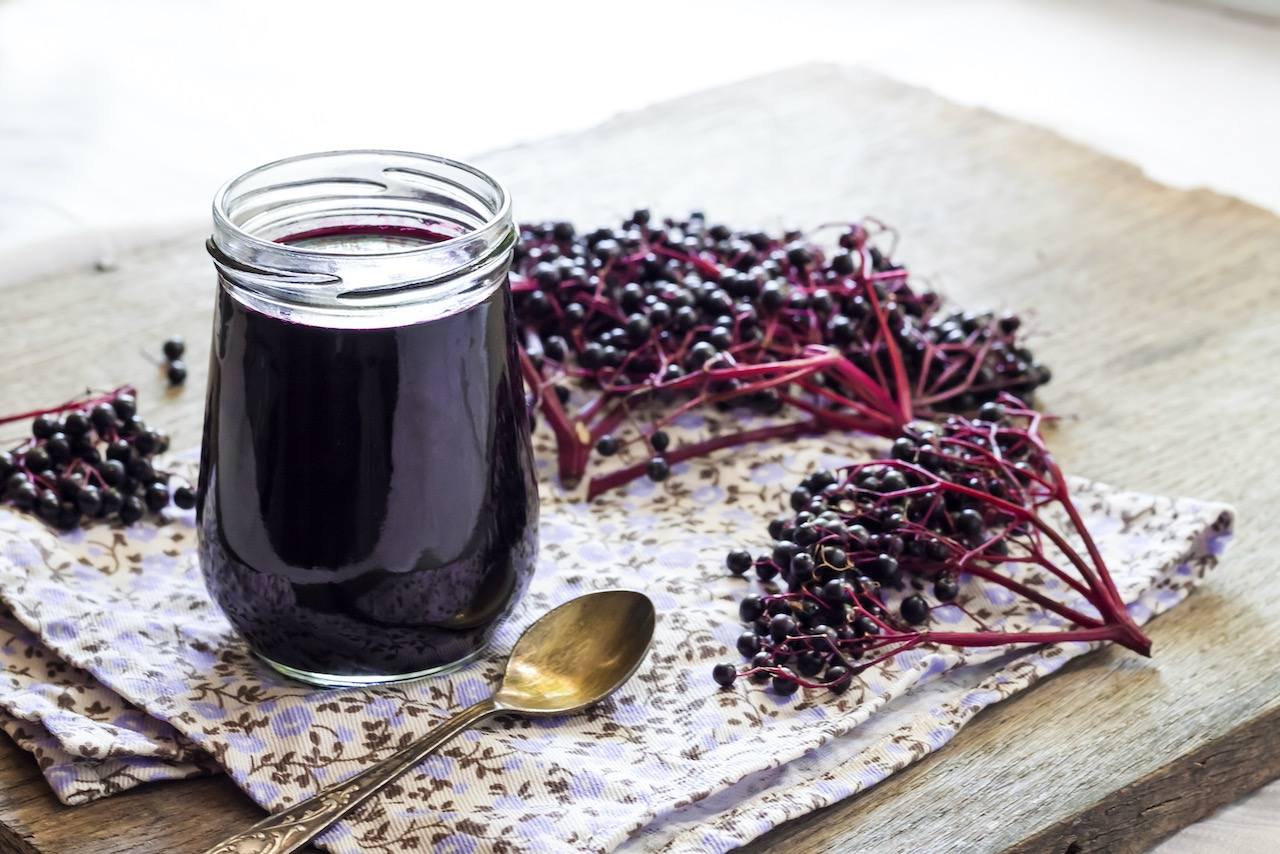 Stay well with elderberry syrup