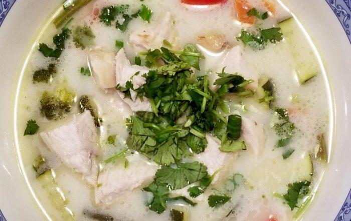 Tom Kha Soup Recipe