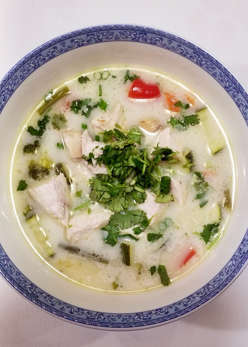 Tom Kha Soup Recipe